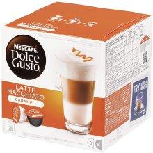 Nescafe Dolce Gusto Caramel Latte Macchiato (Pack of 3)