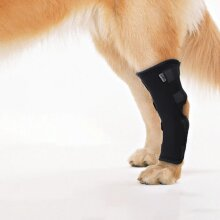 Dog Hock Braces Pet Supportive Rear Dog Compression Leg Joint Wrap Protects Wounds and Injury