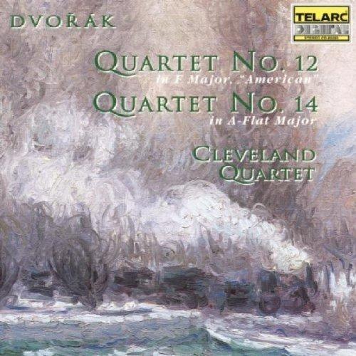 Cleveland Quartet - Antonin Dvorak: Quartets Nos. 12 and 14 [CD]