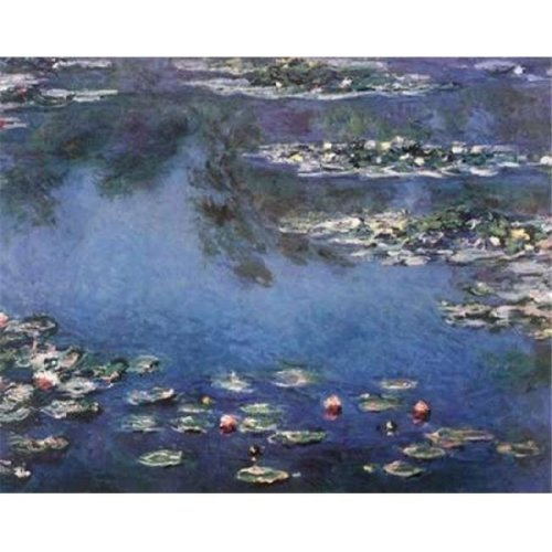 Waterlilies 3 Poster Print by Claude Monet, 24 x 30 - Large