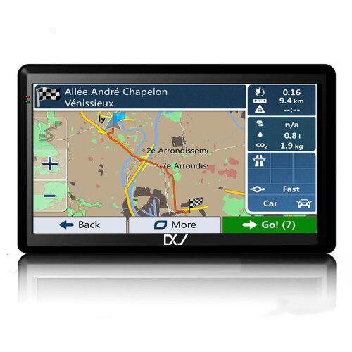 "5"" SAT NAV 8GB Car Truck HGV LGV GPS UK EU 2021 map"