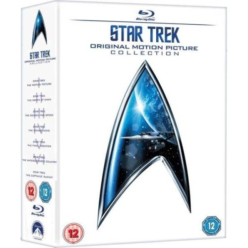 Star Trek 1 to 6 Movie Collection (6 Films) Blu-Ray [2009]