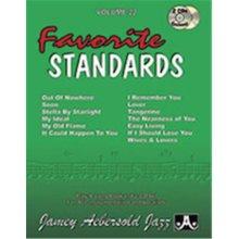 Alfred 24-V22DS Jamey Aebersold Jazz, Volume 22 - Favorite Standards