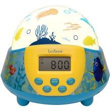 Lexibook NLJ140DO Finding Dory Projector Nightlight Radio Alarm Clock