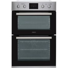 Zanussi ZOD35802XK Built In Double Oven - Stainless Steel
