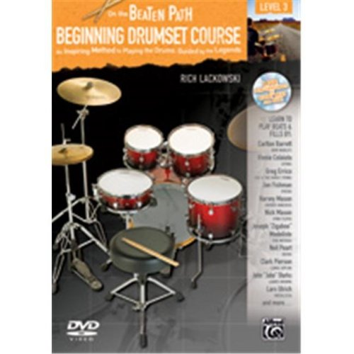 Alfred 00-37515 ON THE BEATEN-BG DRM 3-BK&CD&DVD