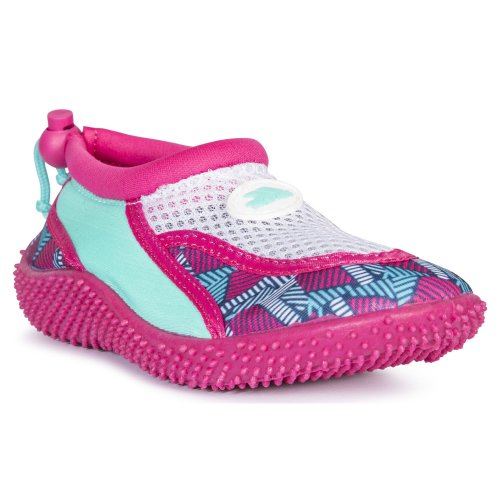 (10 Child UK, Pink Lady Print) Trespass Childrens Girls Squidette Aqua Shoes