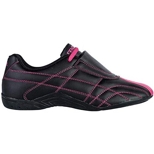 century Lightfoot Martial Arts Shoes, Black/Pink, Size 6.5