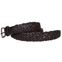 Forest Womens/Ladies Plait Leather Belt