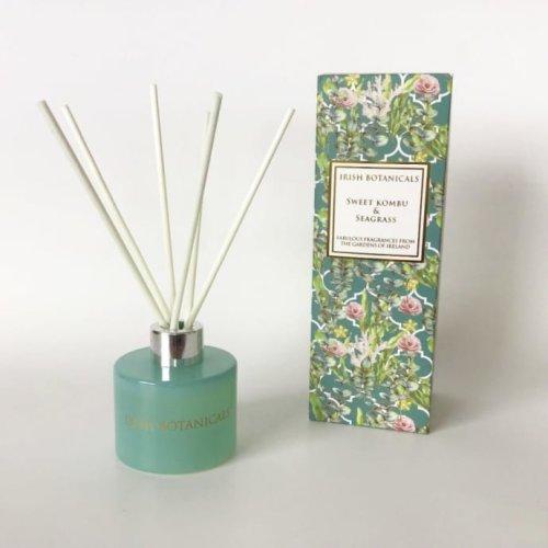 Irish Botanicals Reed Diffuser - Sweet Kombu & Seagrass