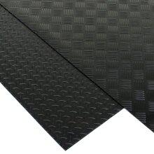 Rubber Flooring Matting Heavy Duty Mat Anti Slip Mat Garage 1.5m Length 3mm Thick