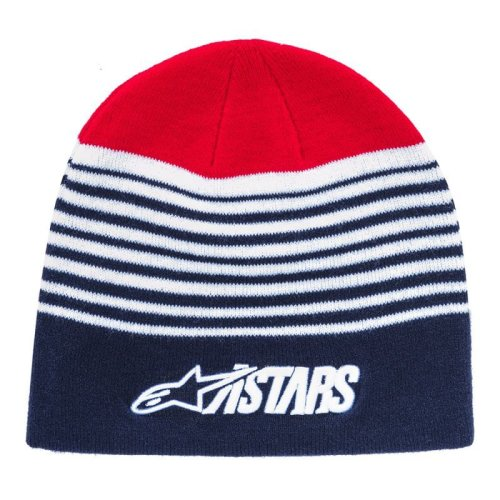 Alpinestars Knitted Cuff Beanie ~ Purps navy
