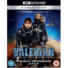 Valerian and the City of A Thousand Planets (4K Ultra HD + Blu-ray)