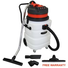 MAXBLAST Industrial Wet & Dry Vacuum Cleaner & Attachments, Powerful 3000W, 90 Litre, Stainess Steel