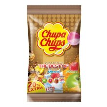 Chupa Chups The Best of 120 Assorted Flavour Lollipops 1440g (120s)