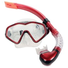 Divetech Tempered Glass Lens PRO Cayman Wide Vision Swimming Mask & Snorkel (UK2020)