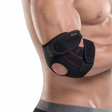 Senston Adjustable Breathable Neoprene Elbow Brace Elbow Support Arm Wrap Strap - Provides Support and Ease Pains - Tennis Golfers Elbow Brace Support