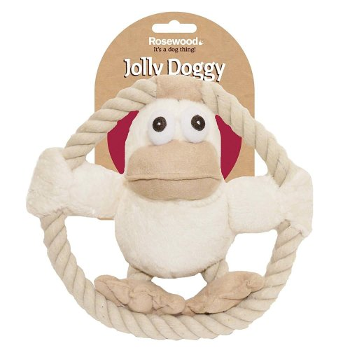 Rosewood Jolly Doggy Riverside Duck Dog Toy