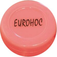 EUROHOC INDOOR ICE HOCKEY SPORTS TRAINING & PRACTICE FLAT SPARE PLASTIC PUCK ( ***New)