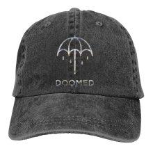 BRING ME THE HORIZON DOOMED Denim Baseball Caps