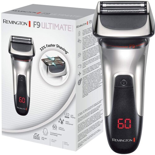 Remington XF9000 F9 Ultimate Series Men's Foil Shaver LED Display & Quick Charge