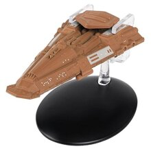 STAR TREK Bajoran Freighter Model with Magazine 101 by Eaglemoss