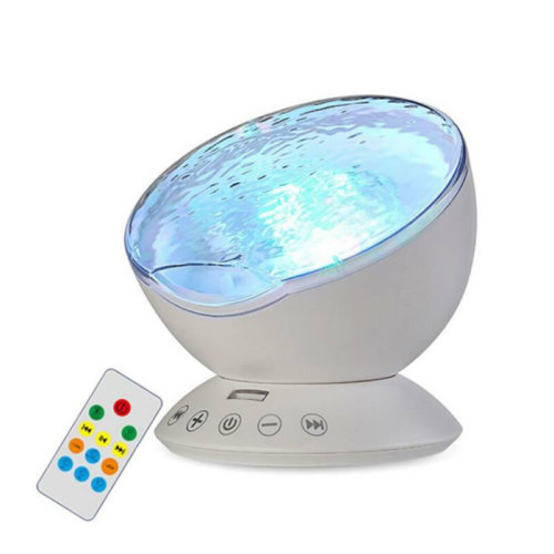 LED Ocean Wave Light Projector With Built-In Mini Speaker