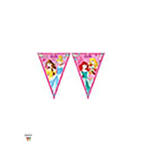 Disney 47093 Princess Party Decoration Banner Triangle Flag