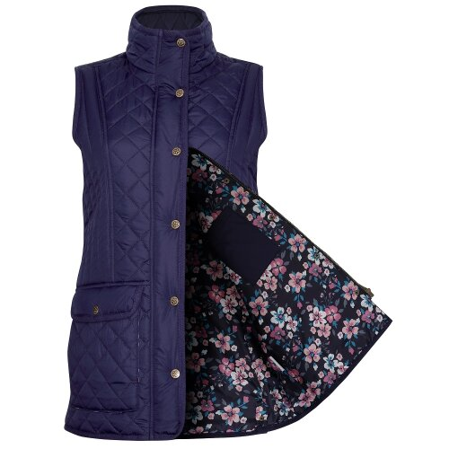 (10, Navy) Champion Dorney Ladies Quilted Gilet