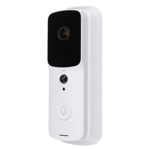V10 Wireless WiFi Video Doorbell Smart Phone Door Ring Intercom Security Camera White