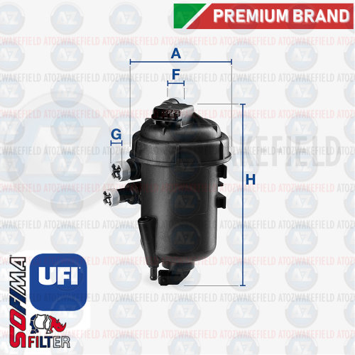 For Fiat Multipla 1.9 JTD 02-10 Fuel Filter Housing