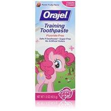 Orajel Toddler My Little Pony Training Toothpaste 1 5 oz Pack of 3