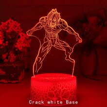 Newest Anime 3d Light Attack on Titan Table Lamp