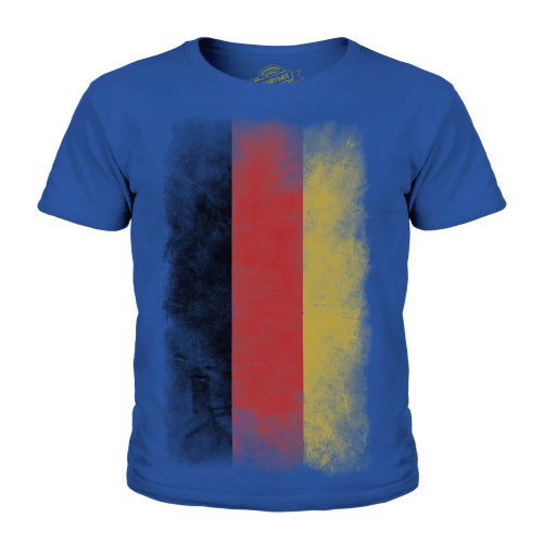 Candymix - Germany Faded Flag - Unisex Kid's T-Shirt