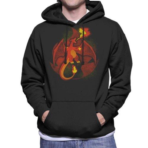 Pokemon Fire Charizard Men's Hooded Sweatshirt