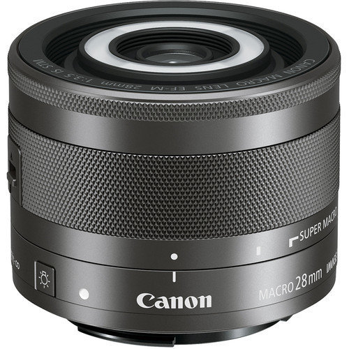 CANON EF-M 28mm F3.5 Macro IS STM Black (white box)