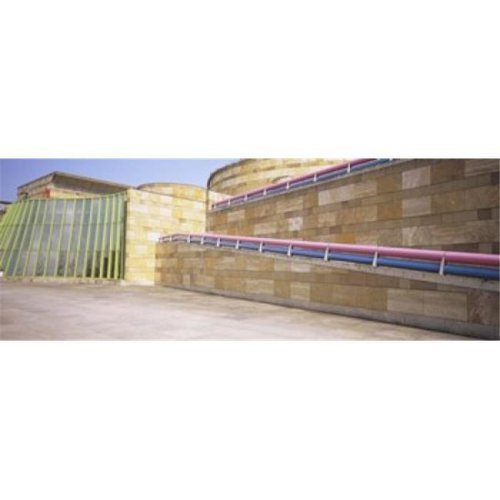 Low Angle View Of An Art Museum  Staatsgalerie  Stuttgart  Germany Poster Print by  - 36 x 12