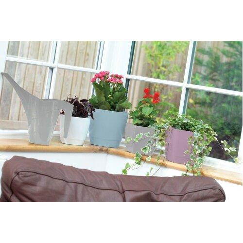 Indoor / Outdoor Square Large Plant Pots 20cm Planters White