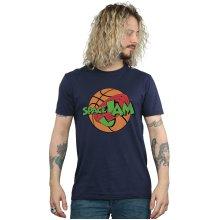 Space Jam Men's Simple Logo T-Shirt