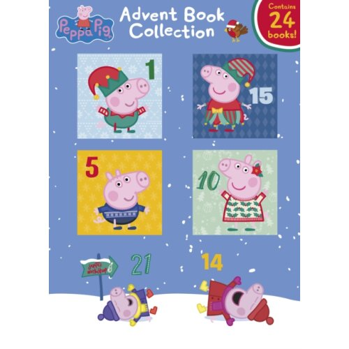 Peppa Pig Advent Book Collection