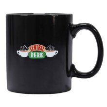 Friends Mug Heat Changing Quotes TV Show Logo new Official Black Boxed
