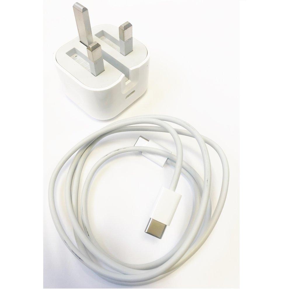 3 Pin UK Plug USB Charger + USB Cable