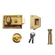 Yale Locks P-77-ENB-P9401-PROMO P77-ENB-PP Nightlatch + Door Viewer