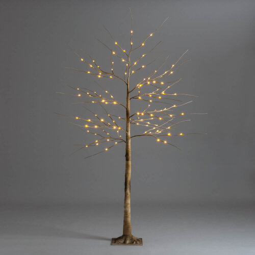 Christmas Birch Tree Warm White LED Pre Lit Twig Light Decoration Indoor Outdoor