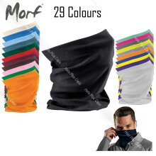 Beechfield 3 in 1 Snood Face Cover Morf Original Neck Mask Warm Breathable Washable