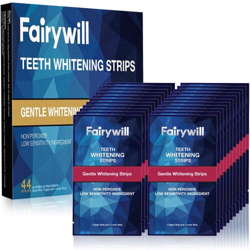 Fairywill Teeth Whitening Strips, 44 Pcs