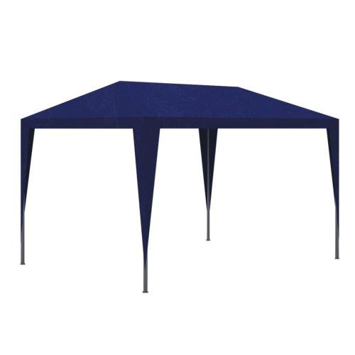 vidaXL Party Tent 3x3m Blue Outdoor Garden Gazebo Marquee Pavilion Canopy