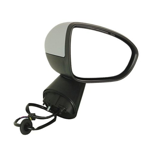 Vauxhall Meriva Mk2 3/2010-> Electric Wing Door Mirror Primed Cover Drivers Side