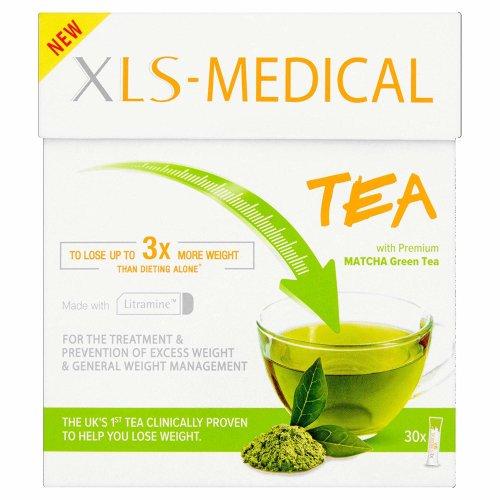XLS Medical Tea with Premium Matcha Green Tea 30 Sachets