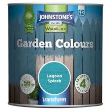 Johnstone's 309279 Garden Colours, Lagoon Splash, 1 Litre
